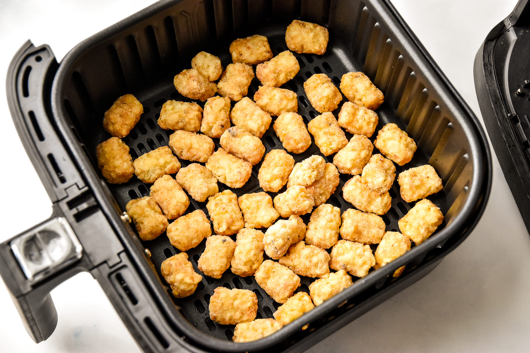 frozen tater tots in the air fryer