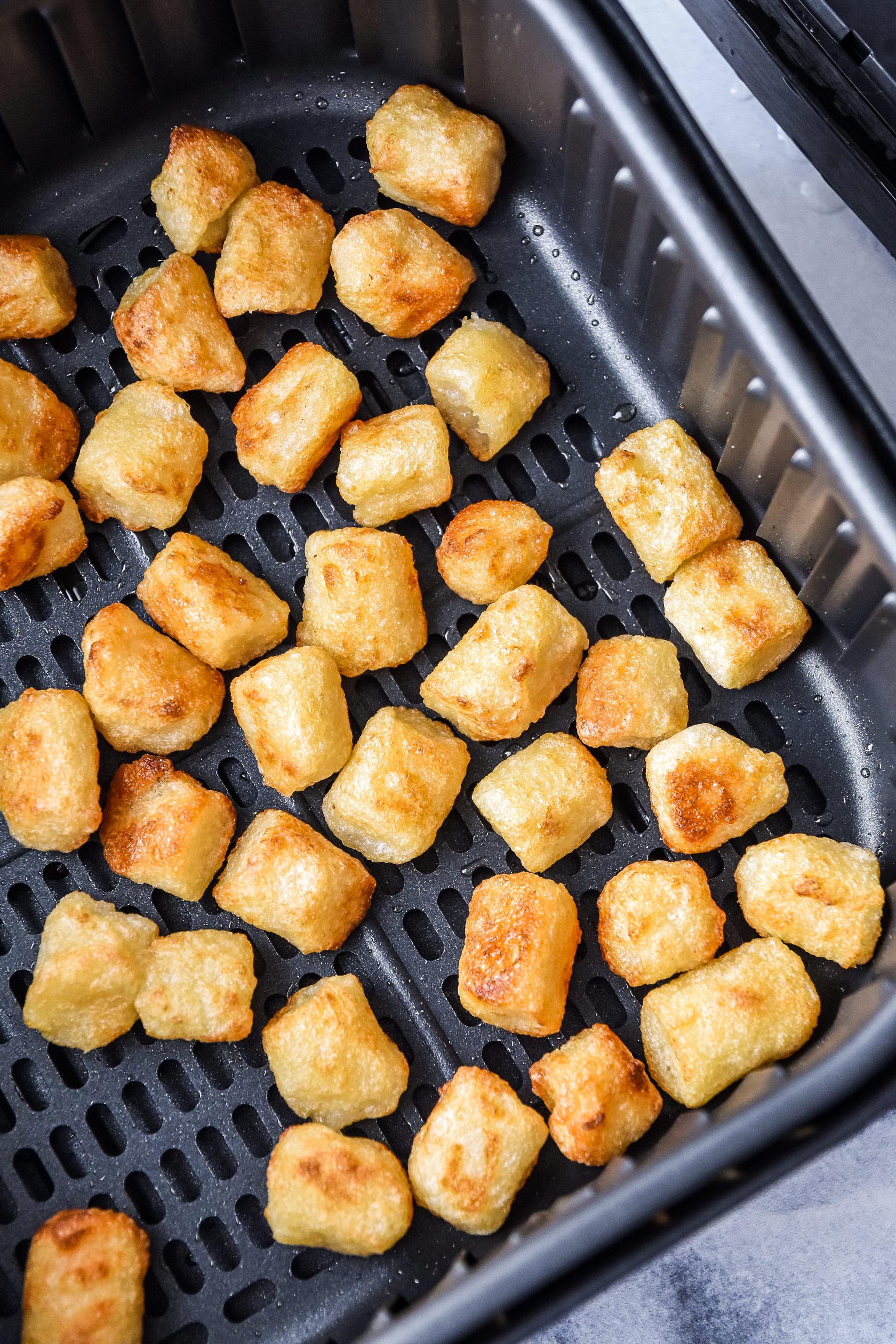 how to make cauliflower gnocchi in an air fryer