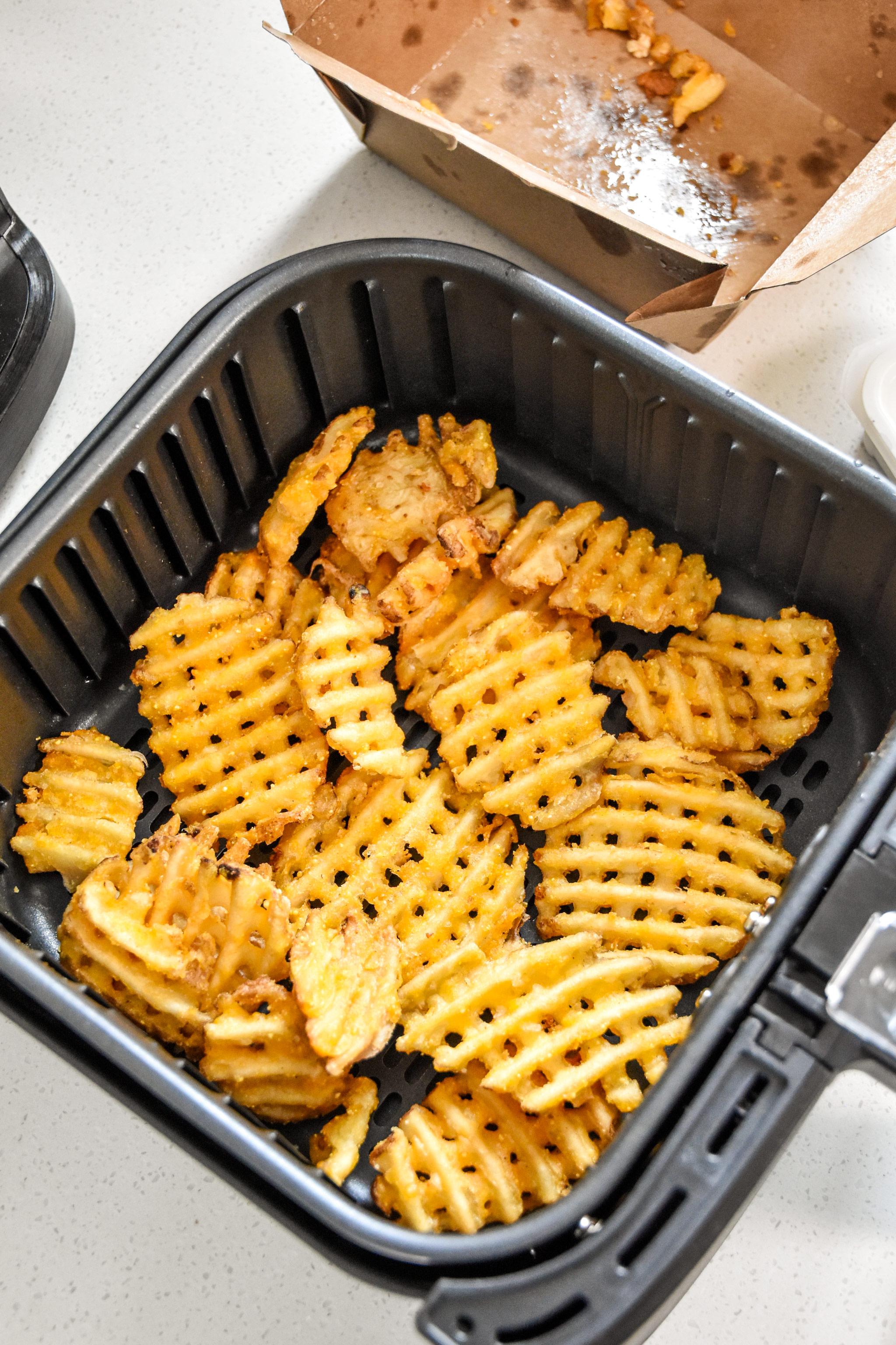 reheat fries in an air fryer