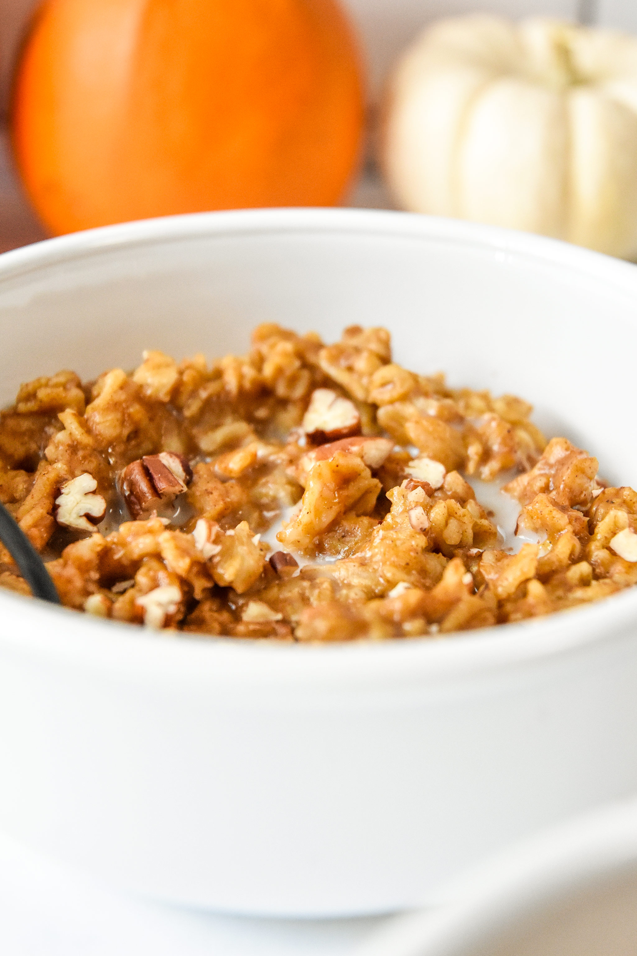 bowl of oatmeal.